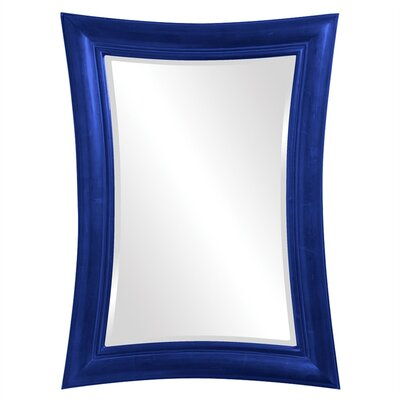 Rectangle Grey Mirror Finish: Royal Blue