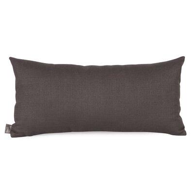 Lovina Kidney Lumbar Pillow Color: Charcoal