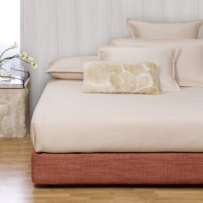 Osborne Platform Bed Color: Coco Peridot, Size: King