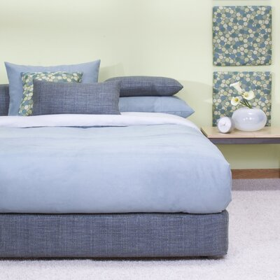 Osborne Platform Bed Size: Full, Color: Coco Sapphire