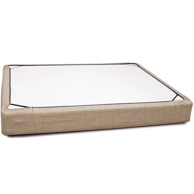Osborne Platform Bed Size: King, Color: Coco Stone