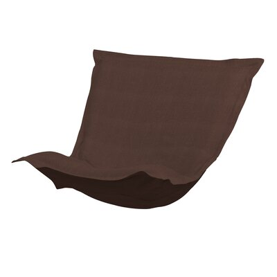 Azaria Sterling Chair Cushion Color: Chocolate