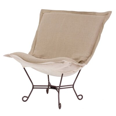 Azaria Scroll Lounge Chair