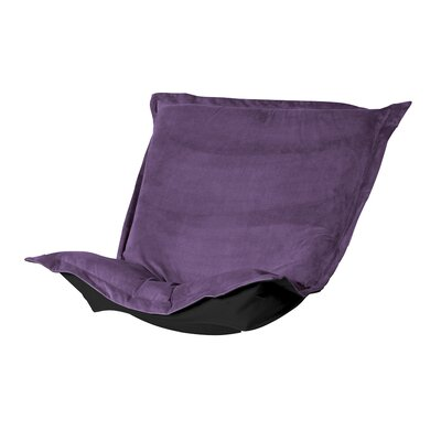 Azaria Chair Cushion Upholstery: Bella Eggplant