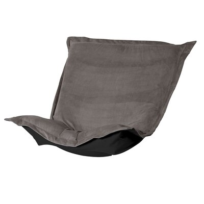 Azaria Chair Cushion Upholstery: Bella Pewter