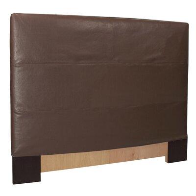 Headboard Slipcover Size: Full/Queen, Upholstery: Avanti Pecan