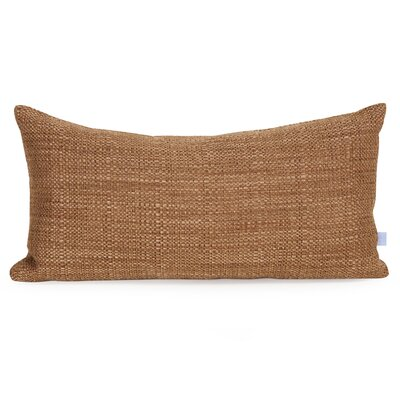 Mulligan Lumbar Pillow Color: Coral