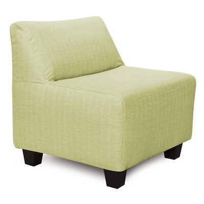 Alyssia Pod Polyester Dining Chair Slipcover Upholstery: Willow