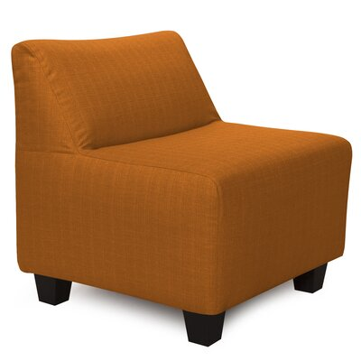 Cunningham Slipper Chair Color: Sterling Canyon