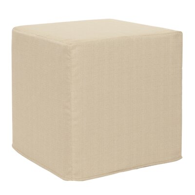 Contreras Sterling Cube Ottoman Upholstery: Sand
