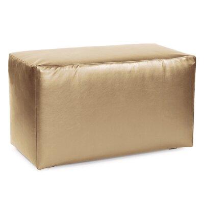 Josie Bench Slipcover Upholstery: Shimmer Gold