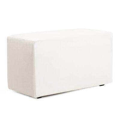 Josie Bench Slipcover Upholstery: Avanti White