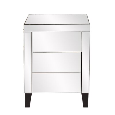 Osborn 3 Drawer Nightstand
