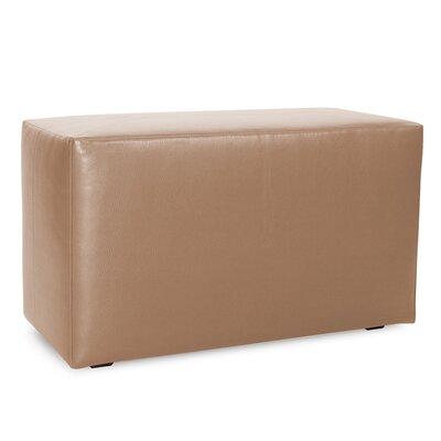 Josie Bench Slipcover Upholstery: Avanti Bronze