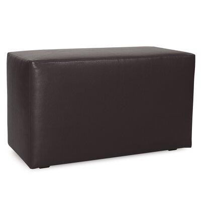 Josie Bench Slipcover Upholstery: Avanti Black