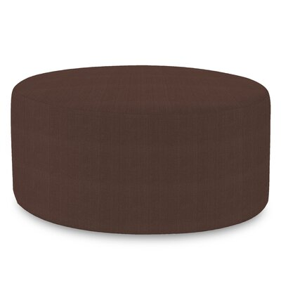 Josie Ottoman Slipcover Upholstery: Sterling Chocolate
