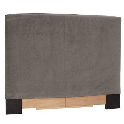 Judith Upholstered Panel Headboard Size: Full/Queen, Upholstery: Bella Pewter