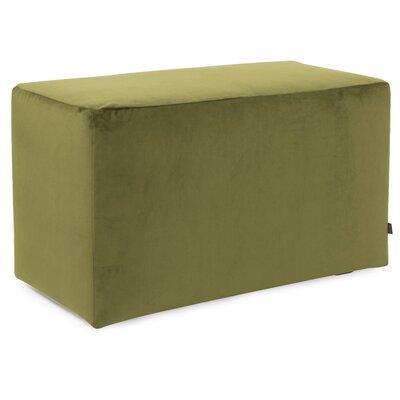 Mattingly Ottoman Slipcover Upholstery: Moss