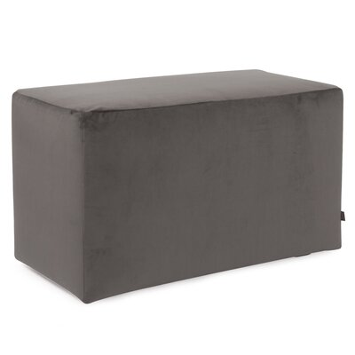 Mattingly Ottoman Slipcover Upholstery: Pewter