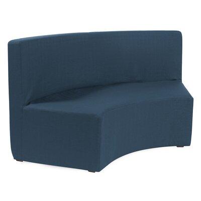 Straka InCurve Sofa Upholstery: Sterling Indigo