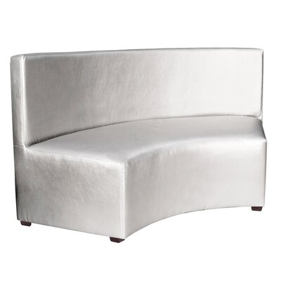 Josie InCurve Sofa Upholstery: Shimmer Mercury