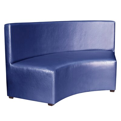 Josie InCurve Sofa Upholstery: Shimmer Sapphire