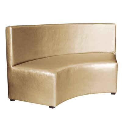 Josie InCurve Sofa Upholstery: Shimmer Gold