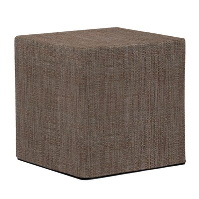 Mulligan Cube Ottoman Upholstery: Coco Slate