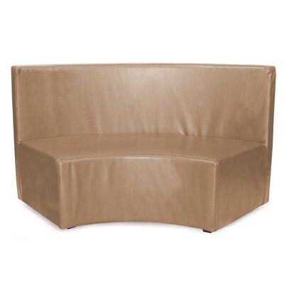 Josie InCurve Sofa Upholstery: Avanti Bronze