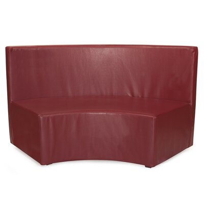 Josie InCurve Sofa Upholstery: Shimmer Bronze