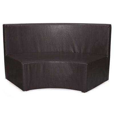 Josie InCurve Sofa Upholstery: Avanti Black