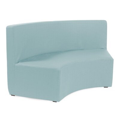 Straka InCurve Sofa Upholstery: Sterling Breeze