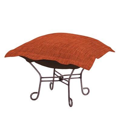 Azaria Ottoman Upholstery: Coco Coral