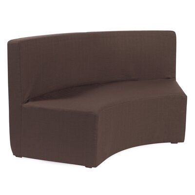 Joyce InCurve Sofa Upholstery: Sterling Chocolate