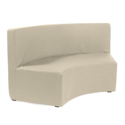 Joyce InCurve Sofa Upholstery: Sterling Sand