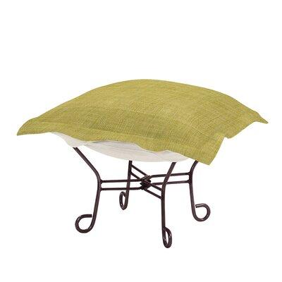 Azaria Scroll Ottoman Upholstery: Coco Peridot