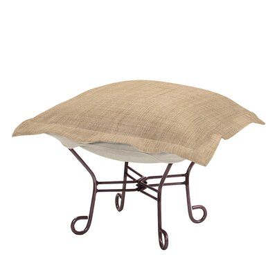 Azaria Ottoman Upholstery: Coco Stone