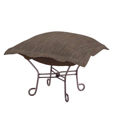 Azaria Ottoman Upholstery: Coco Slate