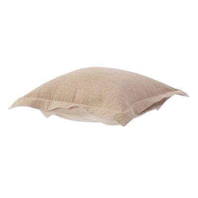 Azaria Prairie Linen Ottoman Cushion