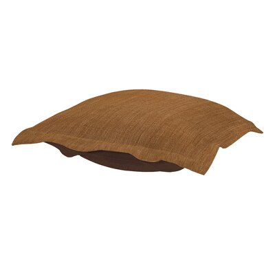 Azaria Coco Ottoman Cushion Color: Topaz