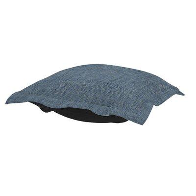 Azaria Coco Ottoman Cushion Color: Sapphire