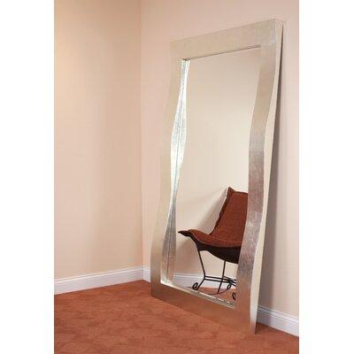 Brayden Studio Rectangle Brilliant Silver Leaf Mirror