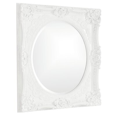 Rectangle Glossy White Mirror Finish: White