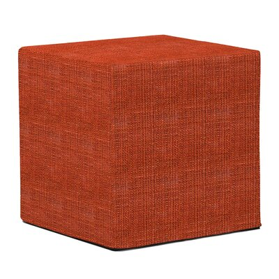 Richmond Cube Ottoman Upholstery: Coco Coral