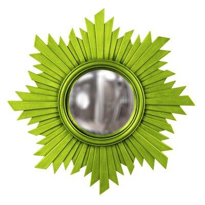 Sunburst Resin Mirror Finish: Green