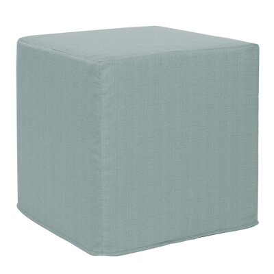 Contreras Sterling Cube Ottoman Upholstery: Breeze