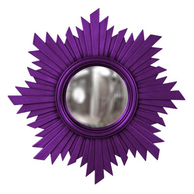 Sunburst Resin Mirror Finish: Royal Purple