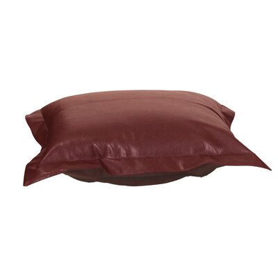 Azaria Avanti Ottoman Cover Upholstery: Apple - Red