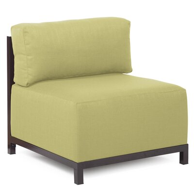 Woodsen SideChair Upholstery: Polyester - Sterling Willow, Finish: Mahogany