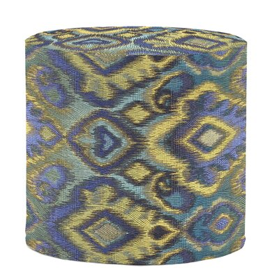 Bedel Cylinder Pouf Upholstery: Opal Pacific